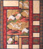"""Gardens of Serenity"" Wall hanging"
